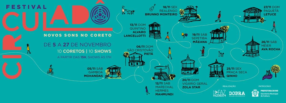 05 a 27/11 :: Festival Circuladô :: Rio de Janeiro - vários locais