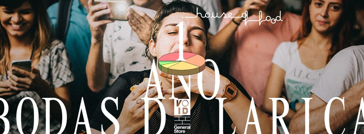 08/12 18h :: Bodas de Larica House of Food :: Void Botafogo