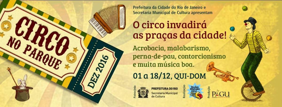 01 a 18/12 :: Circo no Parque :: Rio de Janeiro - diversos locais