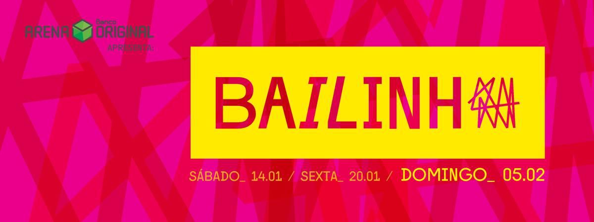 05/02 20h :: Festa Bailinho :: Arena Banco Original