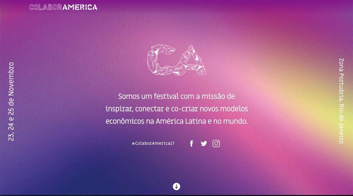 23 - 25/11 :: ColaborAmerica 2017 :: Hub RJ