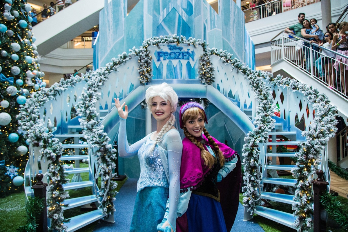 15/11 a 14/12 :: Natal 2017 Frozen da Disney :: Shopping Tijuca