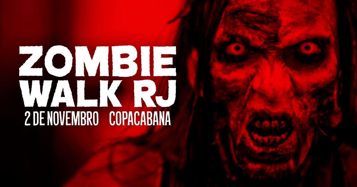 02/11 14h :: Zombie Walk RJ :: Praia de Copacabana